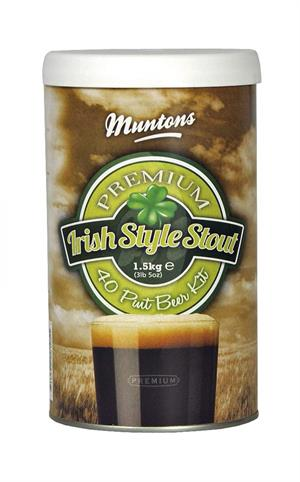 Muntons Irish Style Stout Beer Kit, 1,5 kg