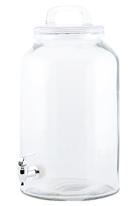 Lemonade, most og saftdispenser med tappehane, 8,5 liter